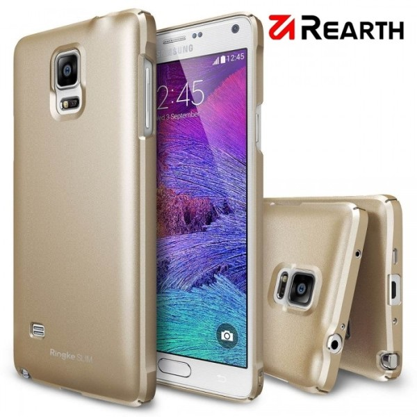 025a821f2c0 Case Ringke Slim Royal Gold – Samsung Galaxy Note 4 | Identidad ...