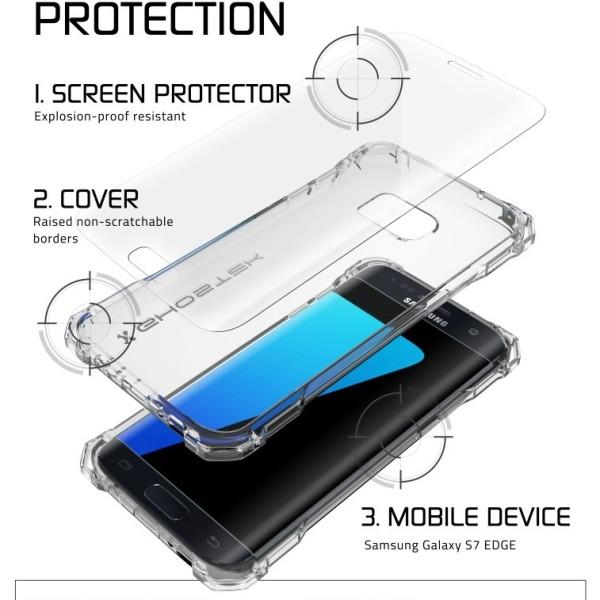 8b78da032c4 Case protector Ghostek Covert Series Cristal – Samsung Galaxy S7 ...